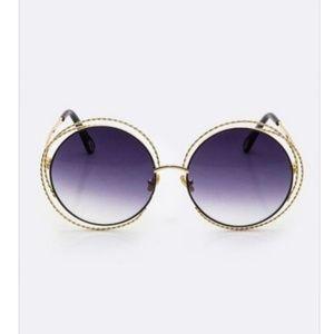 Accessories - Iconic Rim Round Sunglasse